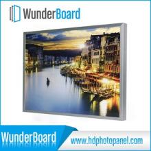 Painel de foto de alumínio criativo HD para decoração