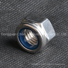 Stainless Steel Carbon Steel Nylon Lock Nuts DIN982 DIN985