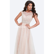 Illusion Ausschnitt Sweetheart A Line Celebrity Dress