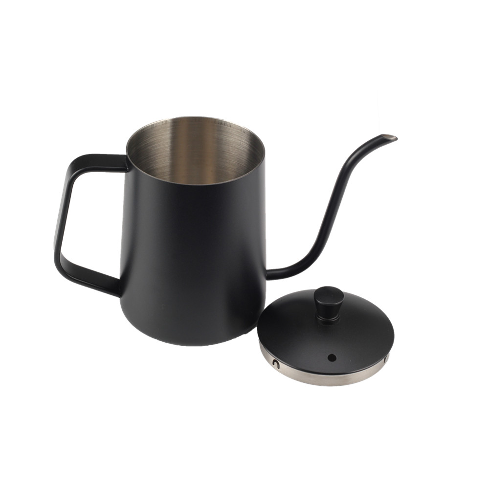 Gooseneck Spout Black Coffee Kettle