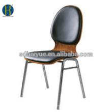 La silla de comedor apilable de alta calidad del metal / la silla de la escuela hace en Foshan