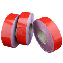 Pet / PVC Orange Cintas de seguridad reflectantes de alta visibilidad