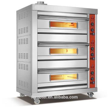 Fabricante de equipos para panadería, horno de gas para panadería