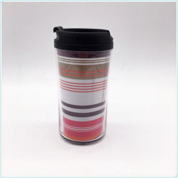 Food Grade PP Plastic Coffee Cup with Lid BPA Free