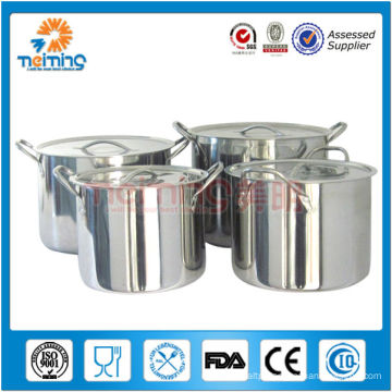2014 new prodcut hot sale 555 stainless steel pot, large cooking pot
