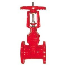 Robinet à guillotine anti-incendie en fonte ductile