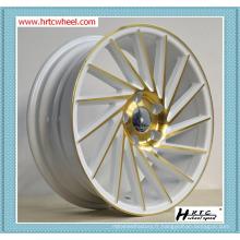 Fabriquer directement des roues de jantes à plusieurs couleurs pour toutes les voitures