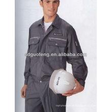 Vestuário impermeável retardador da tela da sarja da chama do algodão / poliéster de 20 * 16 CVC