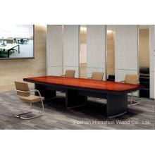 Современный высококачественный деревянный стол для конференций (HF-Ltd116)