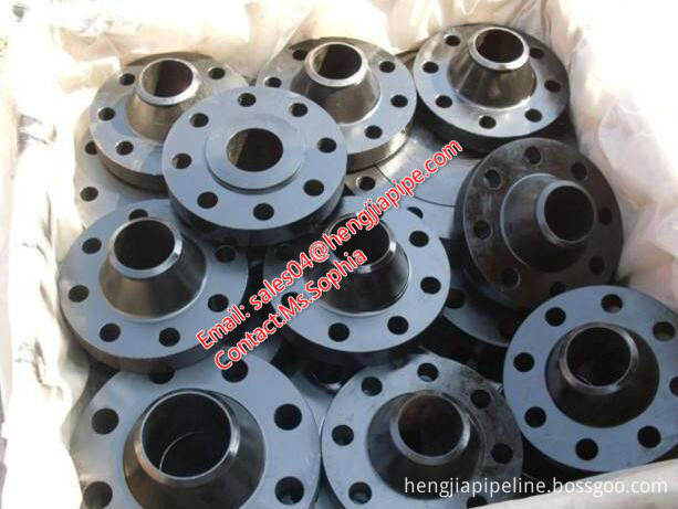 steel flanges with forged