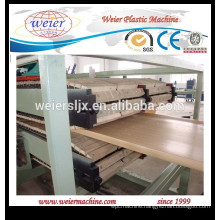 wpc pvc doors board manufactured extruder line