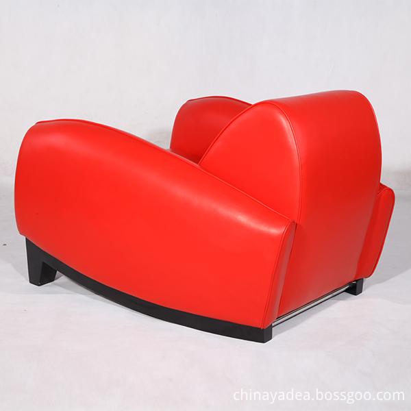 Leather Franz Romero Bugatti Lounge Chairs