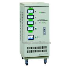 Настраиваемая серия Tns-6k с тремя фазами Полностью автоматический регулятор напряжения переменного тока / стабилизатор