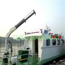 Гидравлический кран на палубе с поворотным кулаком 0,35 т3,5 м