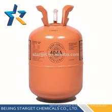 Cylindre jetable 10,9 kg / 24 lb réfrigérant mixte R404A gaz