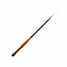TENR001graphite tenkara canne à pêche blanc fibre de carbone télescopique pôle