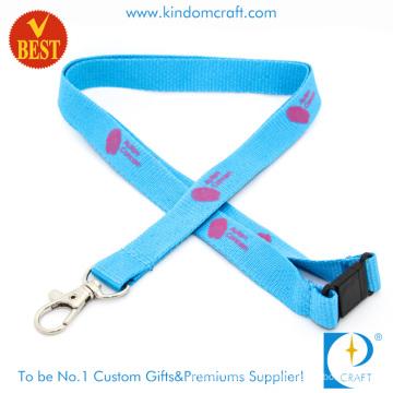 Custom Branded Printing Flat Polyester Lanyard (LN-0133)