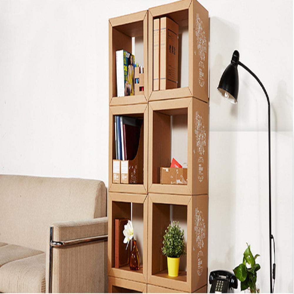 Corrugated Creative shelves