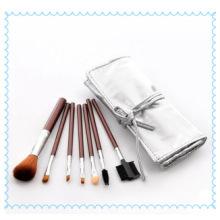 2015 оптовая продажа 10PCS Golden Synthetic Kabuki Makeup Brush Custom Logo