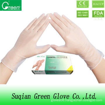 Disposable Examination Vinyl Industrial Gloves