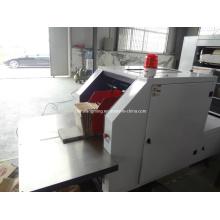 Bolsa de papel laminado que hace la máquina