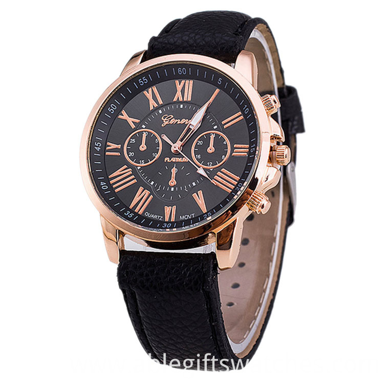 hot sell leather watch