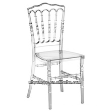 Clear Resin Napoleon Chair