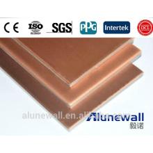 Panel compuesto de cobre de 4 mm CCP con un precio de fábrica máximo de 2.03 de ancho