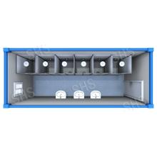 Sitio de ducha / ducha de la ducha / ducha con la cabina separada (shs-fp-ablution024)