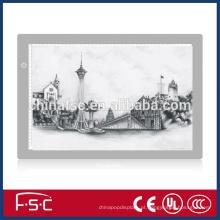 Placa de acrílico LED rastreamento para desenho e cópia de alta qualidade e garantia de 2 anos