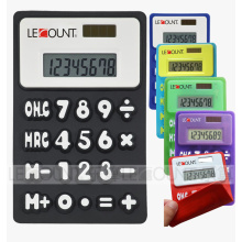 8 Digits Dual Power Silicon Foldable Calculator with Magnet (LC510A)
