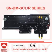Selcom und Wittur Typ Türmaschine 2 Panels Seitliche Öffnung mit Panasonic Wechselrichter (SN-DM-SCL / R)