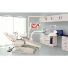 Equipamento dental clínico da unidade da cadeira com tela
