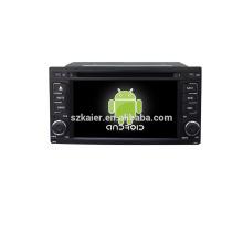 Quad core! Voiture dvd avec lien miroir / DVR / TPMS / OBD2 pour 6.2 pouces écran tactile quad core 4.4 Android système Subaru Forester