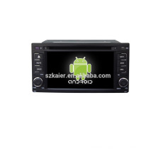 Quad core!car dvd with mirror link/DVR/TPMS/OBD2 for 6.2 inch touch screen quad core 4.4 Android system Subaru Forester