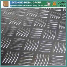 Plaque de contrôle en aluminium de qualité supérieure 2219 pour les escaliers anti-dérapants