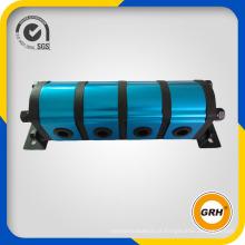 4 seções hidráulica engrenagem síncrono Motor Geared Flow Divider
