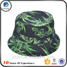 Printed pattern blank cheap bucket hats