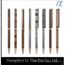 Slim Pen with Crystal Beads Metal Ball Pen Slim 2016