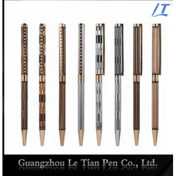 Penna sottile con la penna a sfera di metallo dei branelli di cristallo sottile 2016