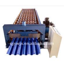 Máquina de formação de rolo de cobertura de aço 750