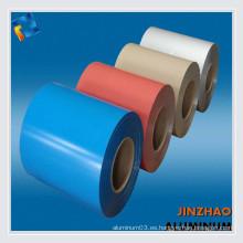 3000 series de aleación de aluminio recubierto de color bobinas para letras de canal