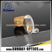 Lentes ópticas de Biconvex BK7 do diâmetro 25,4mm do comprimento focal de 25,4mm