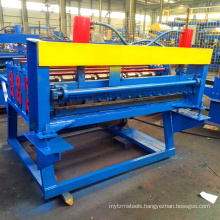 Cut To Length Roof Roll Forming Machine / Automatic Hydraulic Cutting Machine
