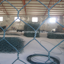 Gabion+Basket-Vinyl+Coated+Hexagonal+Wire+Mesh+Type