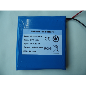 3.7V 12AH deep cycle lithium polymer battery