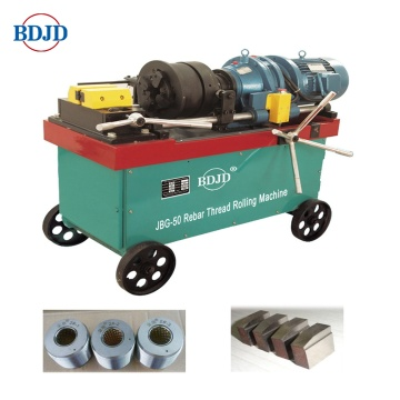 JBG-50 Model Mesin Rolled Rebar Thread Rolling