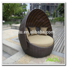 King Size Rattan Round-Bed