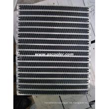 Núcleo del refrigerador de aluminio del intercambiador de calor