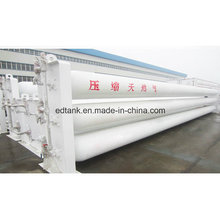 3.9m3 Filling Volume CNG Storage Cylinders Groups for Gas Station